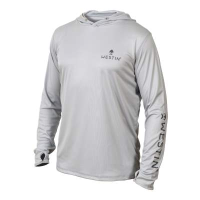Westin Pro Guide UPF Long Sleeve, Grey, Gr. XL