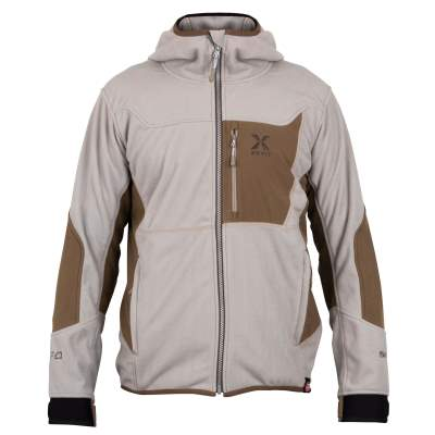 Shimano Xefo Windstopper Optimal Hoody Gr. XL (beige/braun)