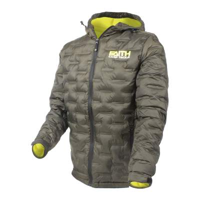 Faith Bubble Jacket XL Steppjacke, Gr. XL - olive