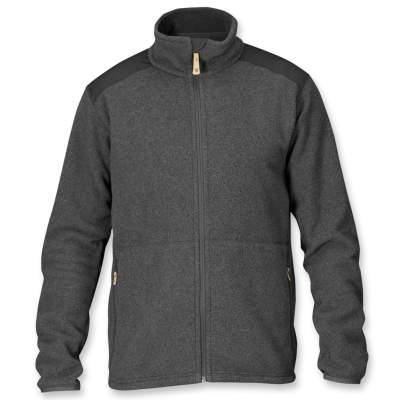Fjäll Räven Jacke Sten Fleece Dark Grey 030 Gr.M