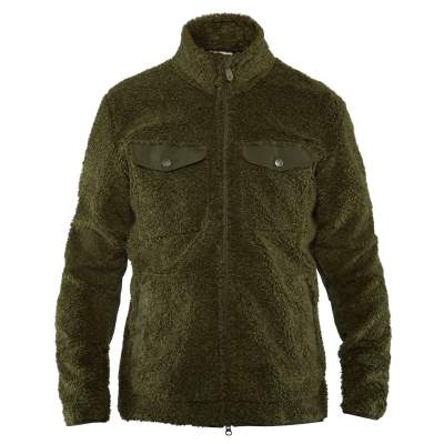 Fjäll Räven Greenland Pile Fleece M, 662 Deep Forest - Gr. M