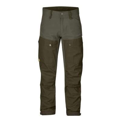 Fjäll Räven Hose Keb Trousers M Long, 662/625 Deep Forrest /Laurel Green - Gr. 52