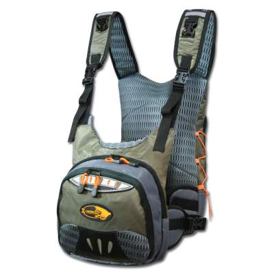 X-Version Fly Liberty Front Chest Pack, Double Bag