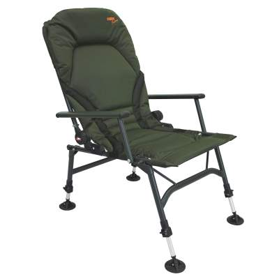 BAT-Tackle Kingdom Recliner Carp Chair (Karpfenstuhl) mit Armlehnen