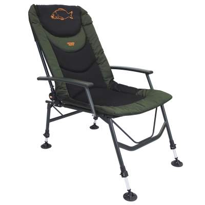 BAT-Tackle Hellmaster Recliner Carp Chair (Karpfenstuhl) mit Armlehnen