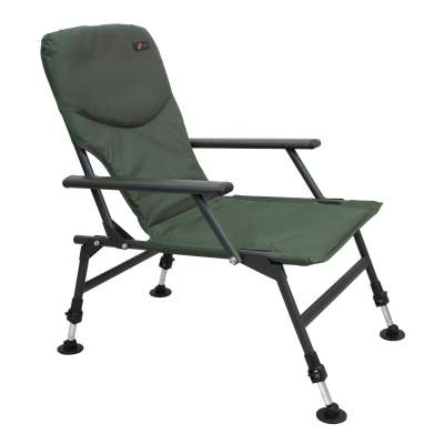 Cyprinus Steel Arm Chair Karpfenstuhl, 130KG