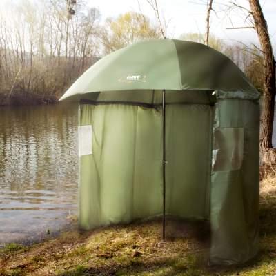 DAM MADCAT Camofish Brolly Outdoor Zelt Karpfenzelt Angelzelt 290x230x152