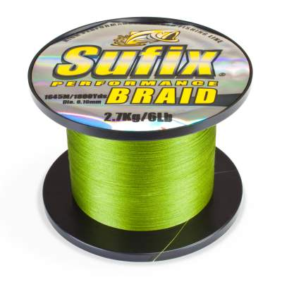 Sufix Perfomans Braid Low Viz