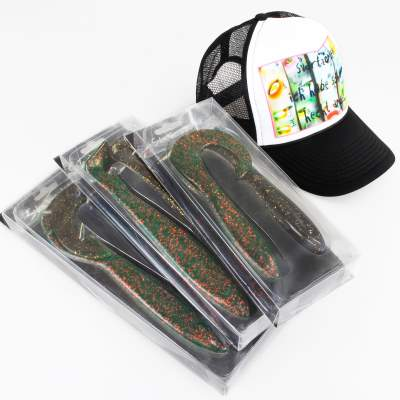 Svartzonker Limited McRubber Shad + Tail Stealth Pack inklusive Hechtangst Cap