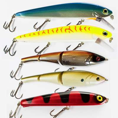 Storm 5-teiliges Big Bait Hecht Wobbler Set