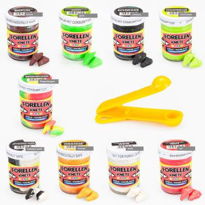 Troutlook/Trout Bait Forellenknete mit Knoblauch Fluo SalmonEgg Glitte