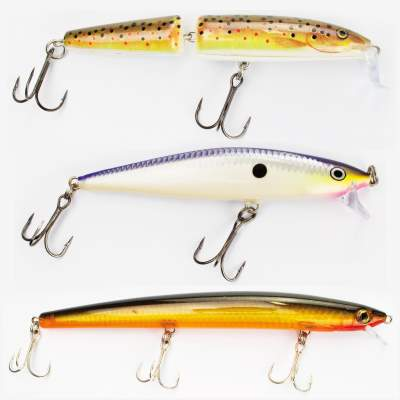 Rapala 3er Promotion Profi Wobbler Set