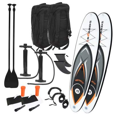Waterside Missle SUP Stand Up 335cm Doppelpack, 2 Stück