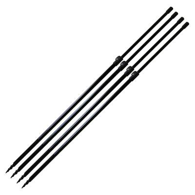 BAT-Tackle Euro-Bankstick-Power Drill 65-95cm 4er Set, 4 Stück