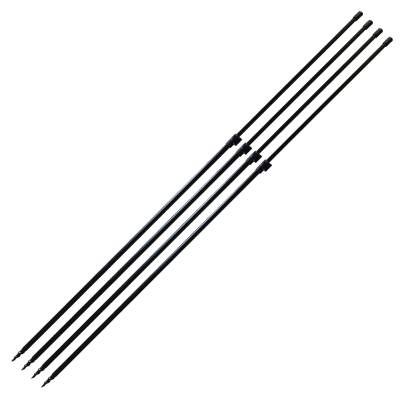 BAT-Tackle Euro-Bankstick-Power Drill 90-140cm 4er Set, 4 Stück