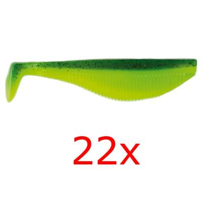 Angel Domäne Belly Pro Shad, 11,0cm, green seduction -22er-Pack