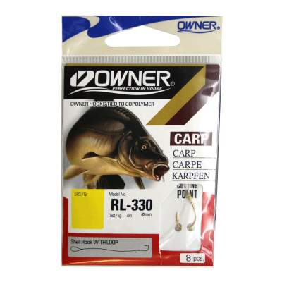 Owner RL-330 Carp, Gold - Gr. 4 - 0,30mm - 70cm