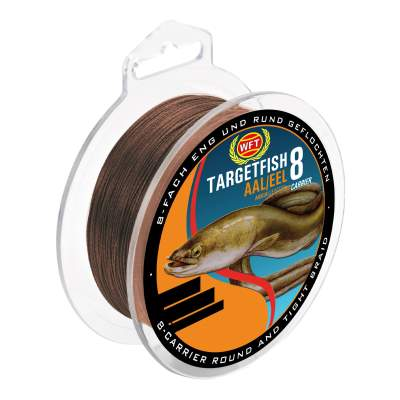 WFT Target Fish 8 Carrier Aal 0,12mm, 160m - 9kg - braun