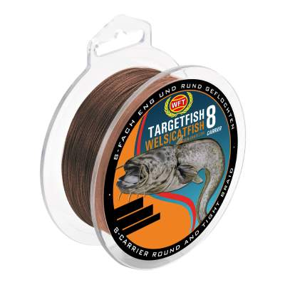 WFT Target Fish 8 Carrier Wels 0,50mm, 220m - 48kg - braun
