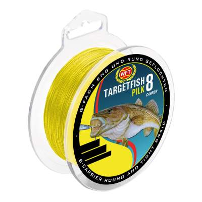 WFT Target Fish 8 Carrier Pilk 0,18mm, 220m - 16kg - gelb