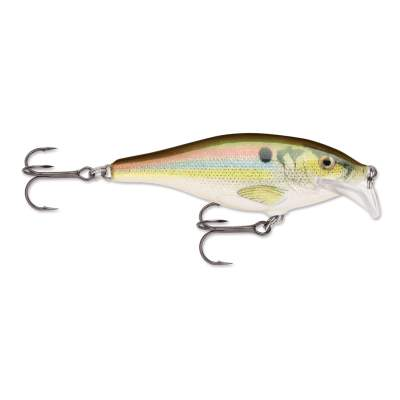 Rapala Scatter Rap Shad 7,0cm 7,0g Wobbler, Live River Shad (RSL)
