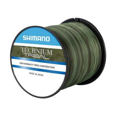 Shimano Shimano Technium Tribal 0,285mm, 1250m - 7,50kg - camouflage