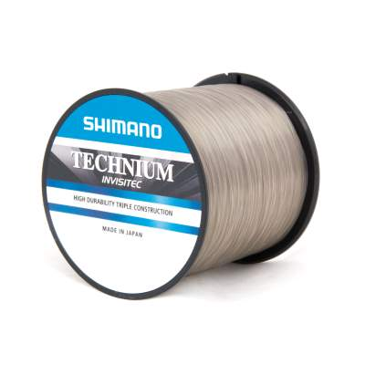 Shimano Technium Invisitec 0,305mm, 1100m - 9,00kg - low visible grey