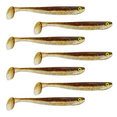 "Tackle Porn Magnetic Mama 4"" Softbait, 9,90 cm - 7g - 7 Stück - Brown Chameleon"