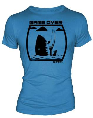 Hotspot Design T-Shirt Game Over Shark Gr. XL
