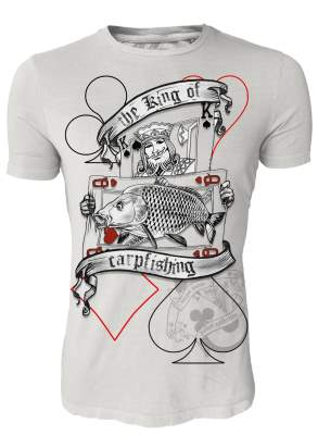 Hotspot Design T-Shirt The King of Carpfishing Gr. M