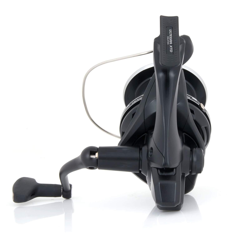 E-Spule Shimano Ultegra XTD Karpfenrolle mit Instant Drag Weitwurfrolle inkl
