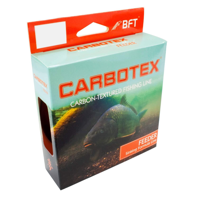 0,06€//m Feeder Angelschnur Carbotex Fluo Orange monofil 250m Feederschnur