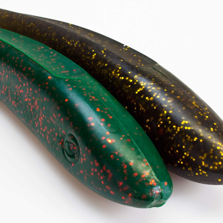 Svartzonker McRubber Shad 23cm 63g Gummifische Raubfisch Kunstköder Hecht 2 Stk