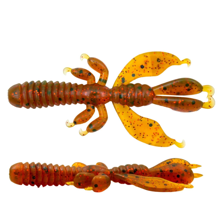 Senshu Flapping Craw Creature Bait Krebsimitat Gummifisch Finesse Rig 6,5cm