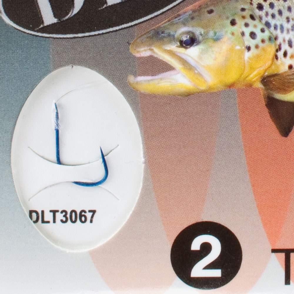 Owner Vorfachhaken Trout 2 Forelle Vorfach Angelhaken Angelzubehör Hook DLT geb