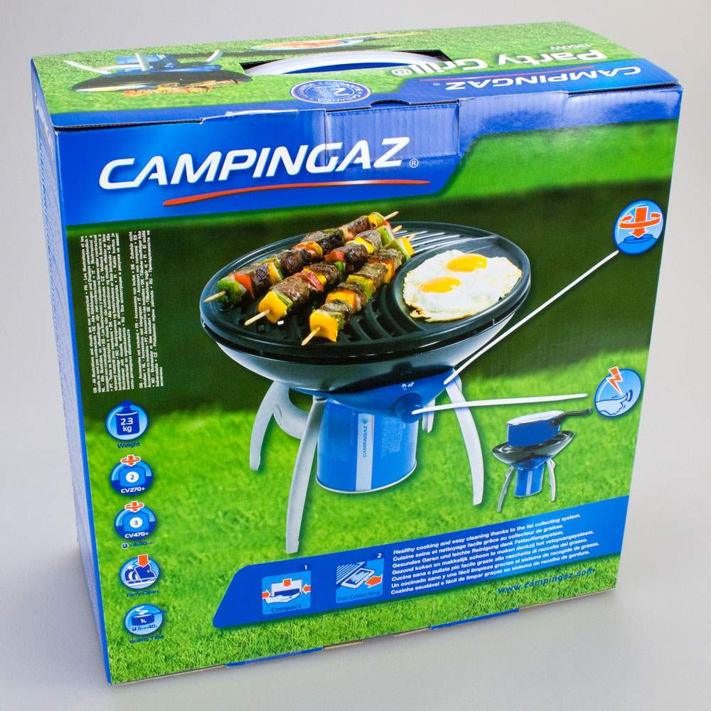 campingaz party grill tragbarer gasgrill outdoor camping angeln grill butangrill ebay. Black Bedroom Furniture Sets. Home Design Ideas