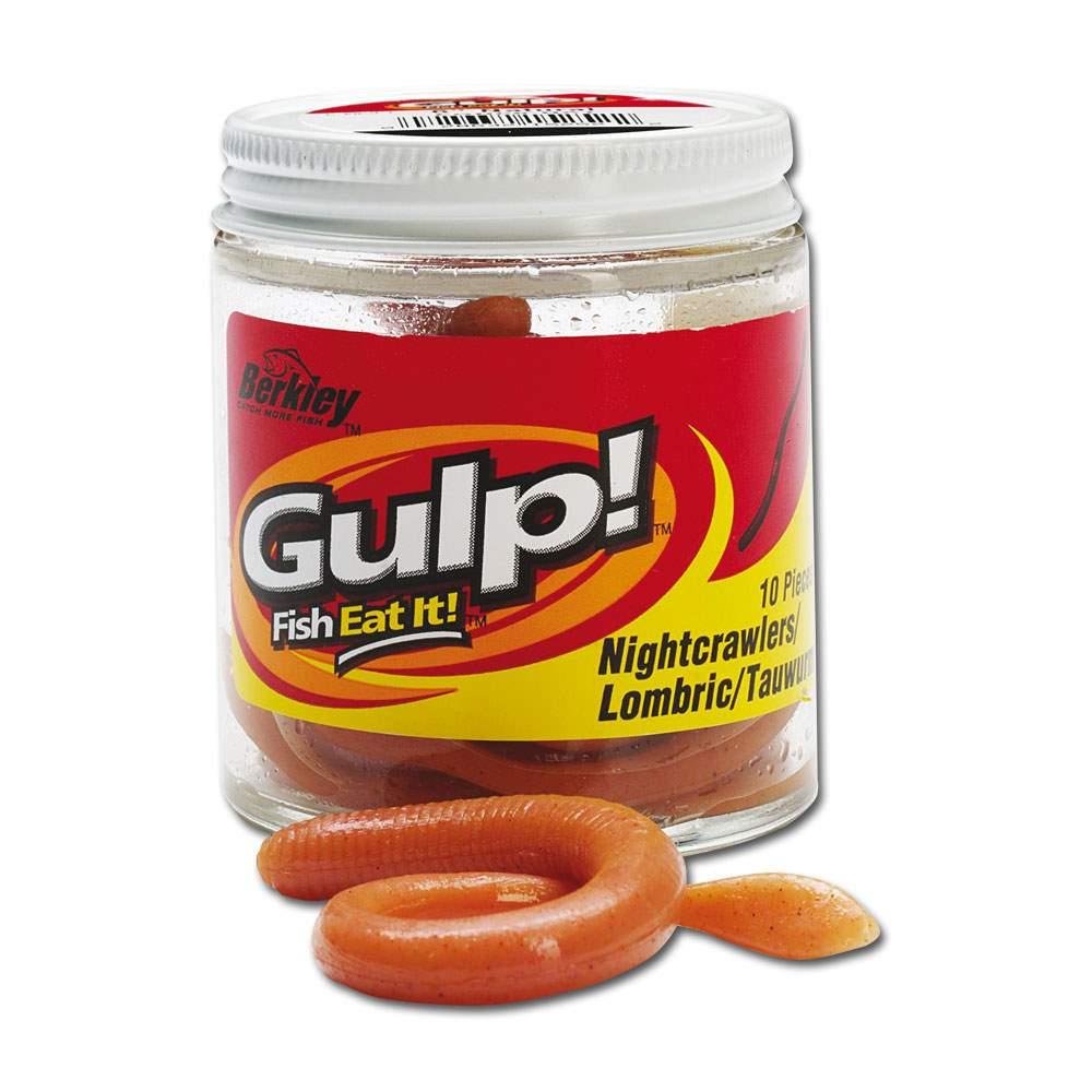 1-00-Stueck-Berkley-Gulp-Tauwurm-Wurmimitat-mit-Flavour-versch-Farben-1