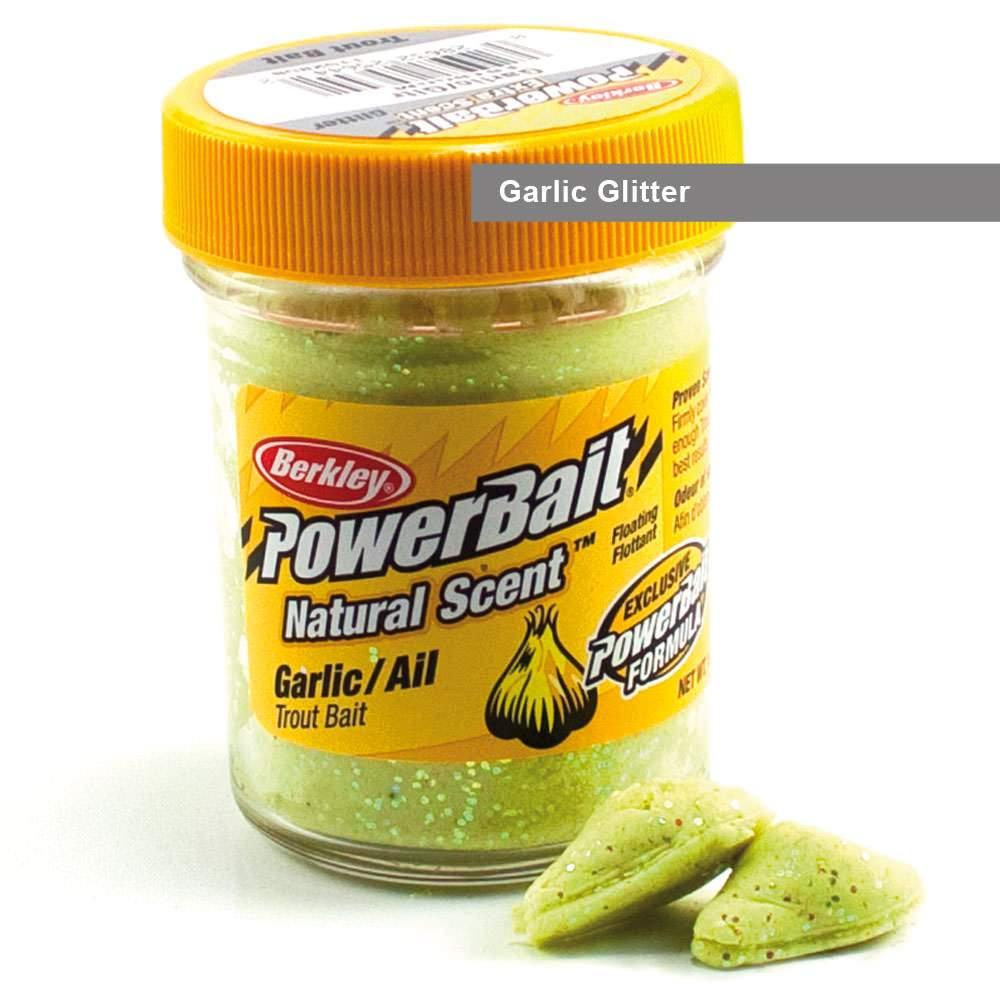 (6,98€/100g) Berkley Powerbait Natural Scent Trout Bait Glitter - versch. Sorten