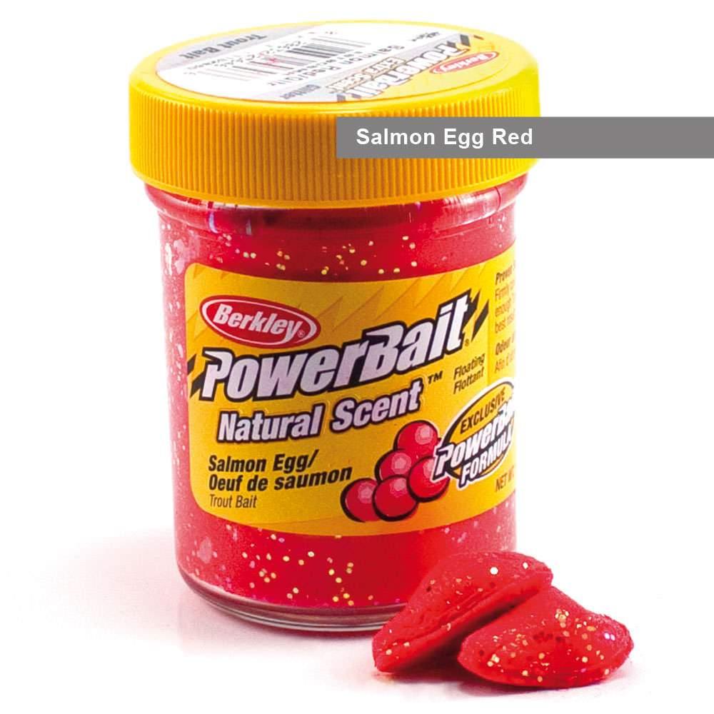 Berkley Powerbait Natural Scent Trout Bait Glitter - versch. Sorten Forellenteig