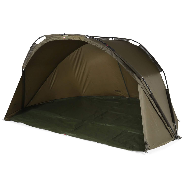 JRC Defender Shelter Angelzelt Karpfenzelt 200x280x135cm 5000mm Alu ...