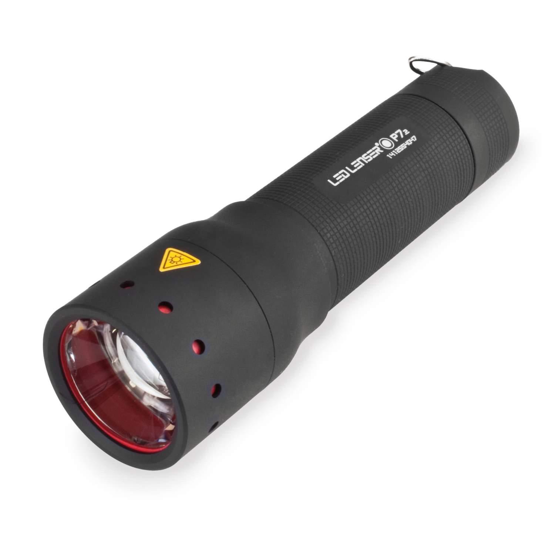 led lenser p7 2 linterna 320 lumen 260m ipx4 incl bolsa. Black Bedroom Furniture Sets. Home Design Ideas