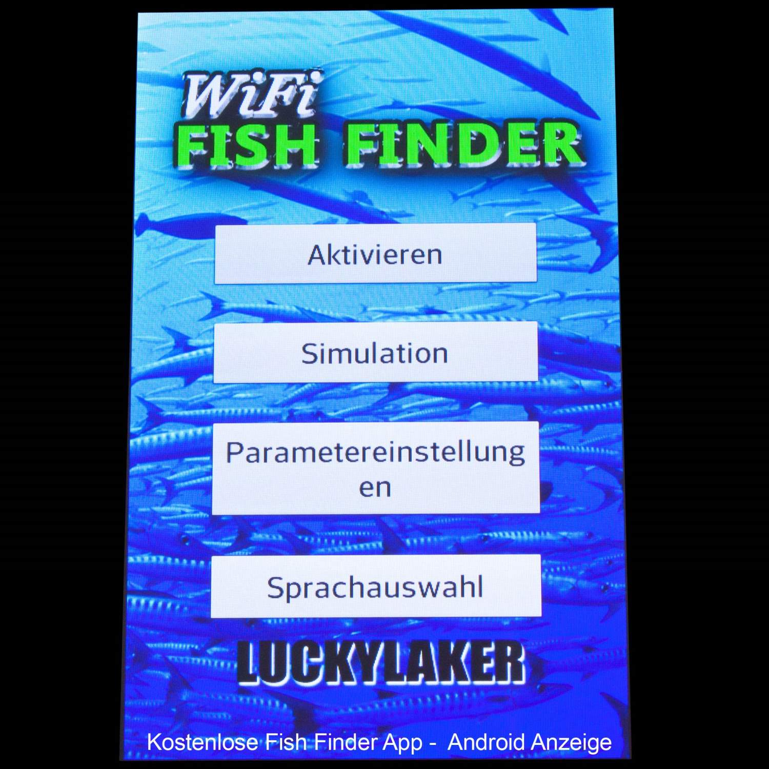 luckylaker wifi fishfinder echolot wlan fisch finder f rs smartphone mit app. Black Bedroom Furniture Sets. Home Design Ideas