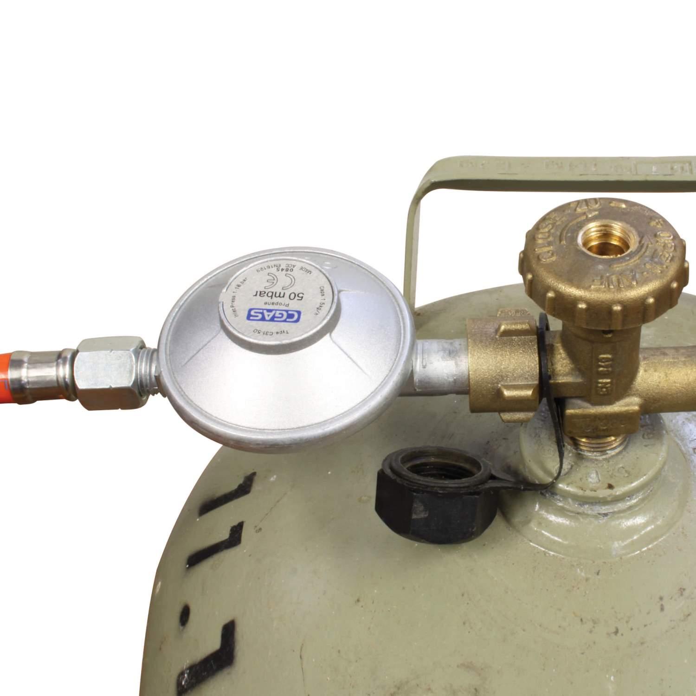 Eversmoke Gasbrenner 5,8 kW 30x30cm Räucherbrenner Gussbrenner Propanbrenner