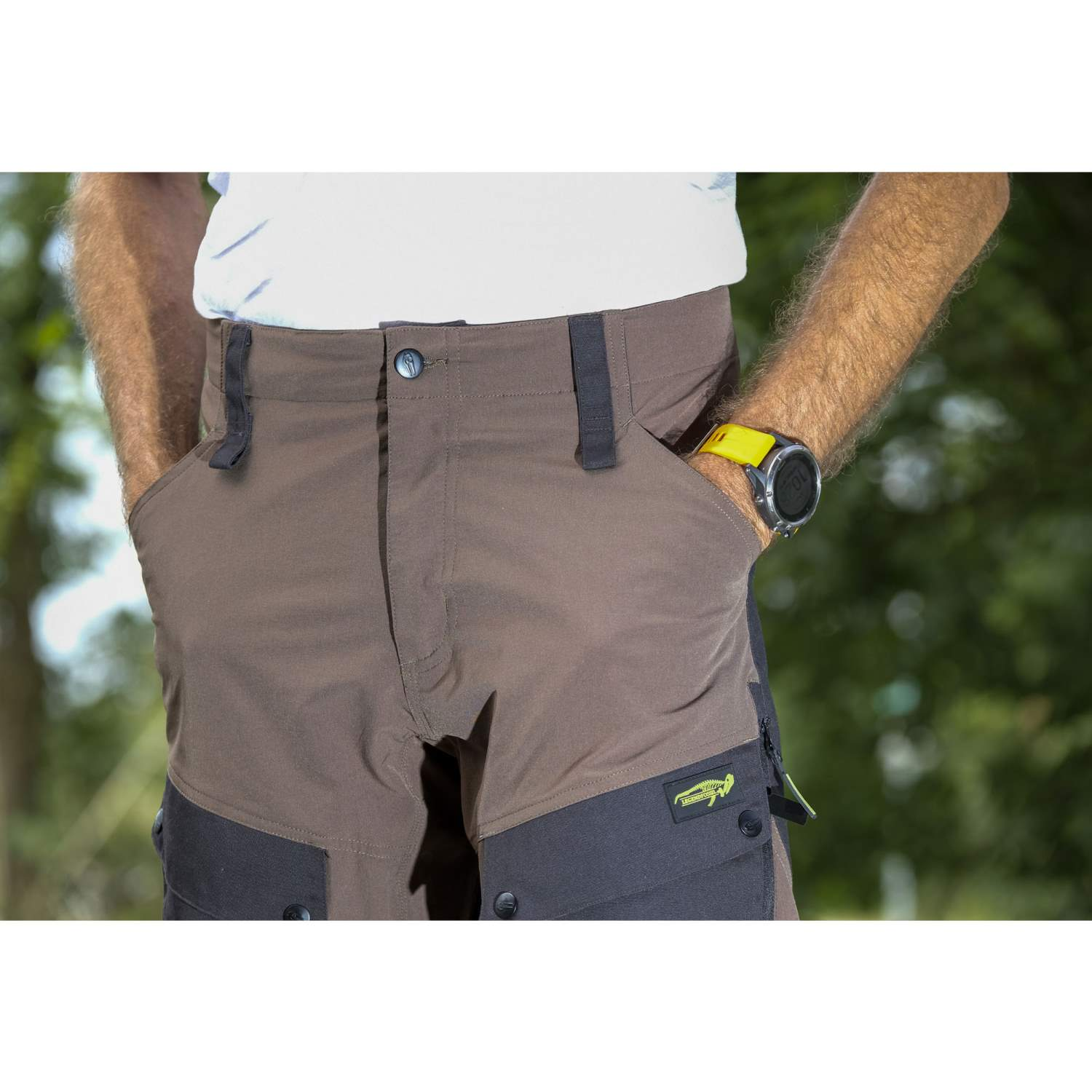 Legend Fossil Stretch Sweden Outdoorhose Moleskine Décontracté Olive s-3xl