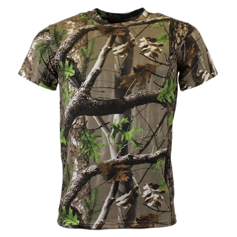 Game Trek Camo Realtree T-Shirt M-XXXL Camouflage Tarn Kurzarm Shirt ...