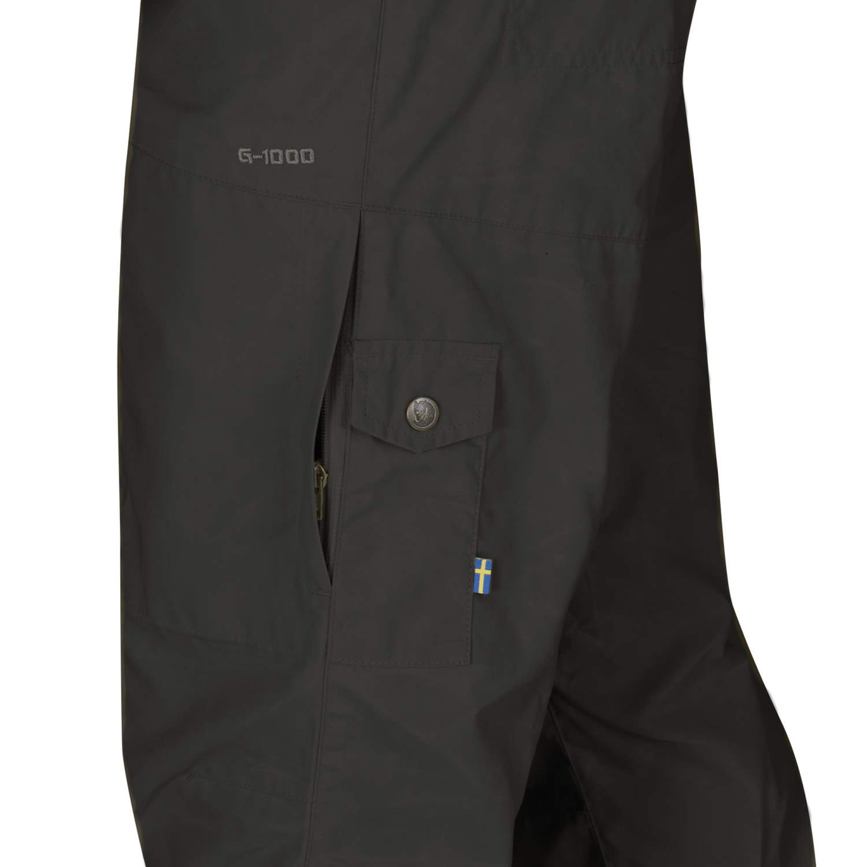 Fjäll Räven Hose Karl Trousers Dark Grey 50-56 Outdoor Angeln Wandern G-1000