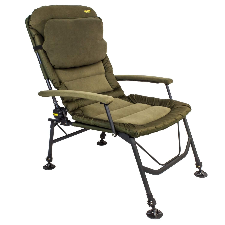 chillzone super recliner chair karpfenstuhl mit armlehnen angelstuhl anglerstuhl ebay. Black Bedroom Furniture Sets. Home Design Ideas