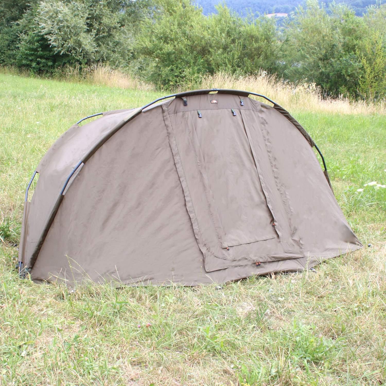 Bat-Tackle Campfort V2 Dome Karpfenzelt Angelzelt 2 Personen 275x215x140cm Prahm