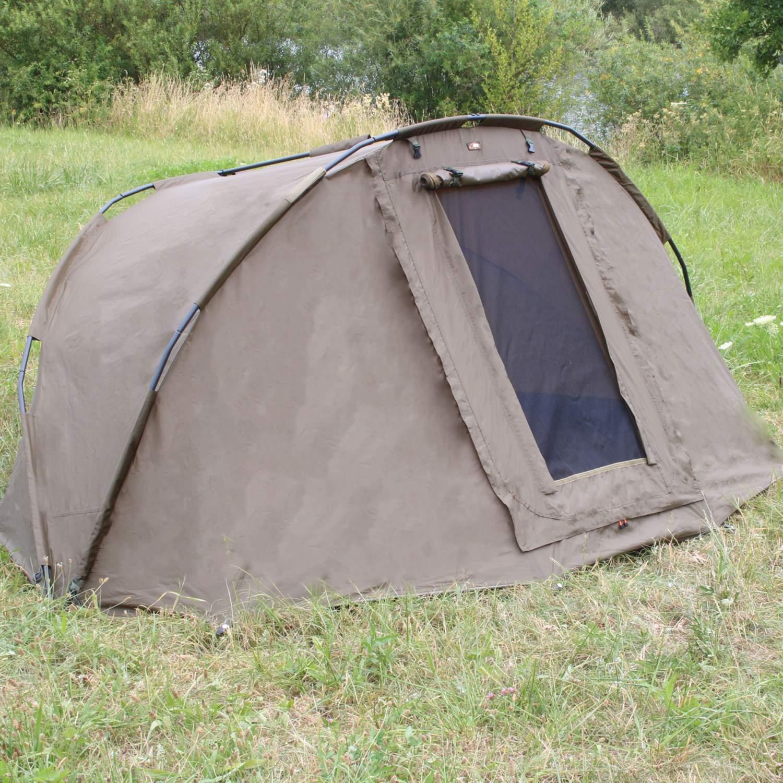 BAT-Tackle Campfort v2 Dome karpfenzelt angelzelt 2 personnes 275x215x140cm Prahm