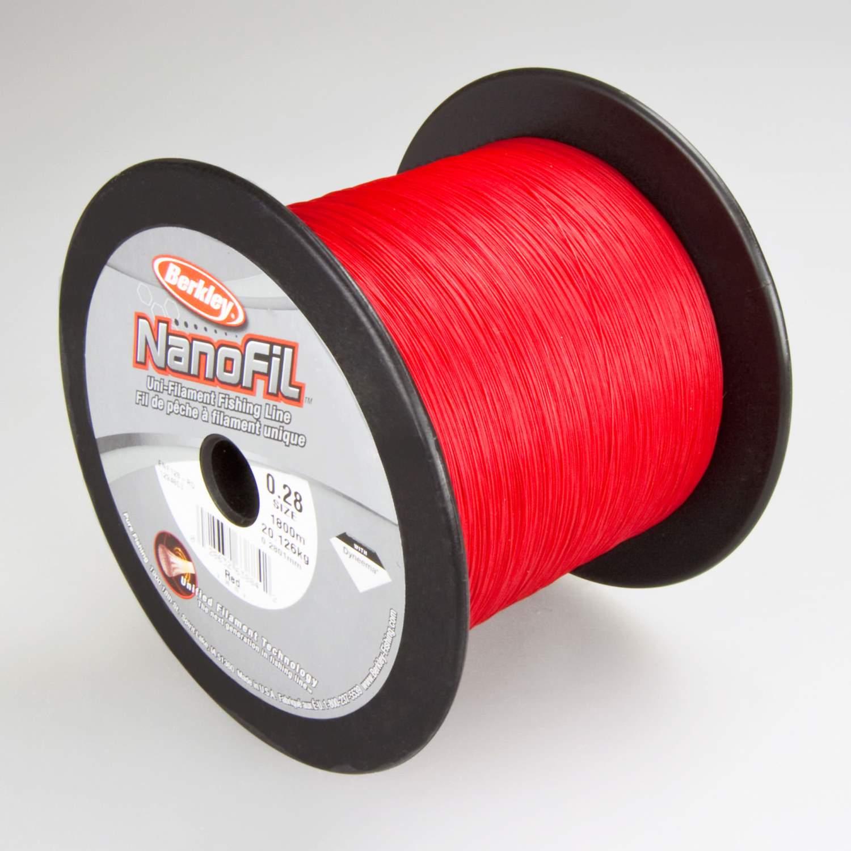 0,10€//m Berkley Nanofil Red Angelschnur Wunschlänge ab 50m von der Großspule